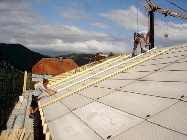 Dachkonstruktion Und Aufbau Dachkonstruktion Und Aufbau